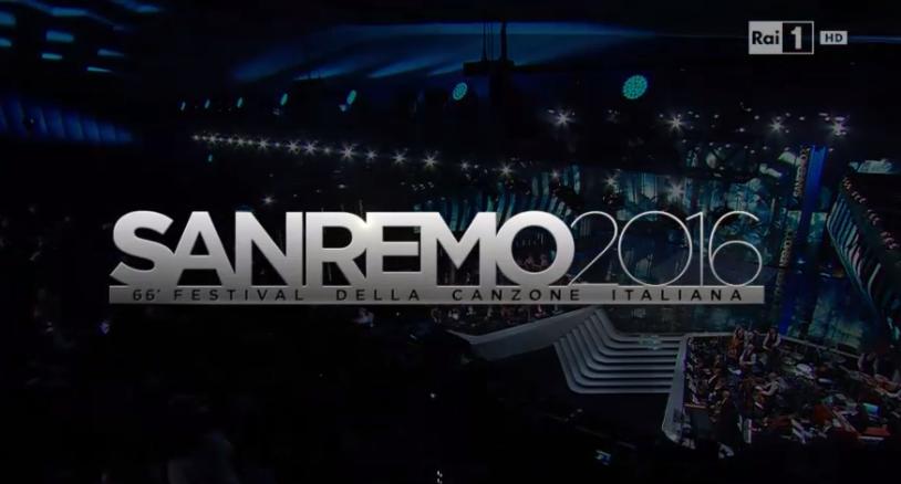 Logo Sanremo 2016, regia Maurizio Pagnussat