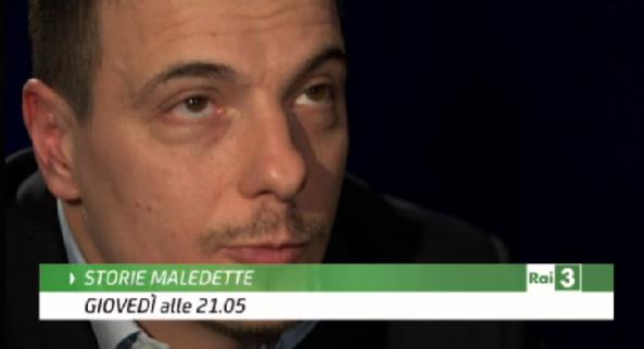 Luca Varani a Storie Maledettee
