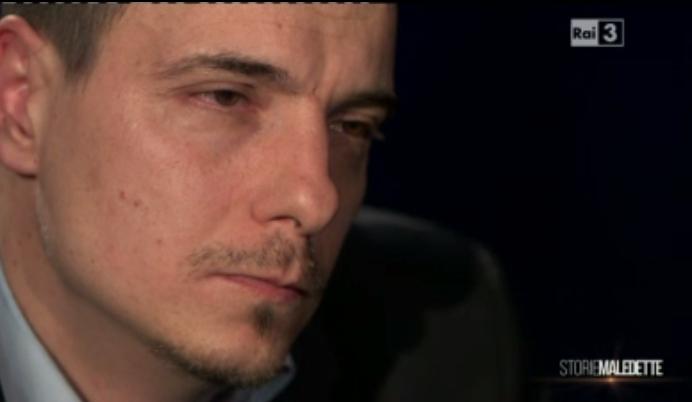 Luca Varani, il pianto a Storie Maledette
