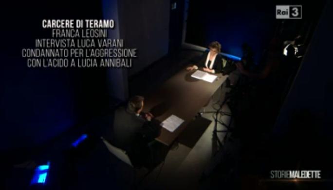 Luca Varani nel carcere di Teramo