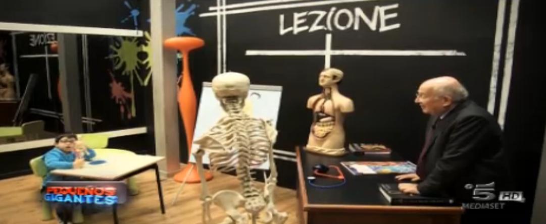 Luciano Onder parla del corpo umano a Gaetano