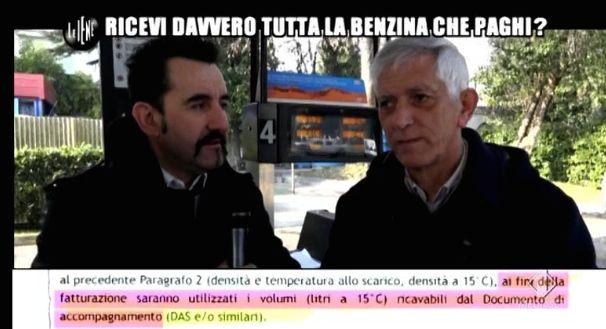 Luigi Pelazza Le Iene benzina