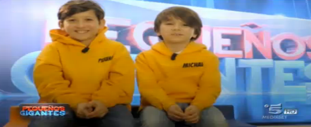 Michael e Pierangelo, squadra Attilio Fontana