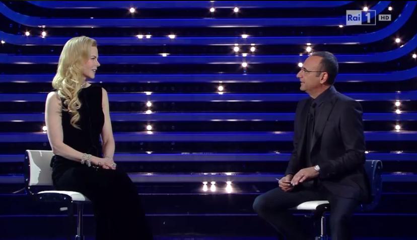 Nicole Kidman intervistata da Conti