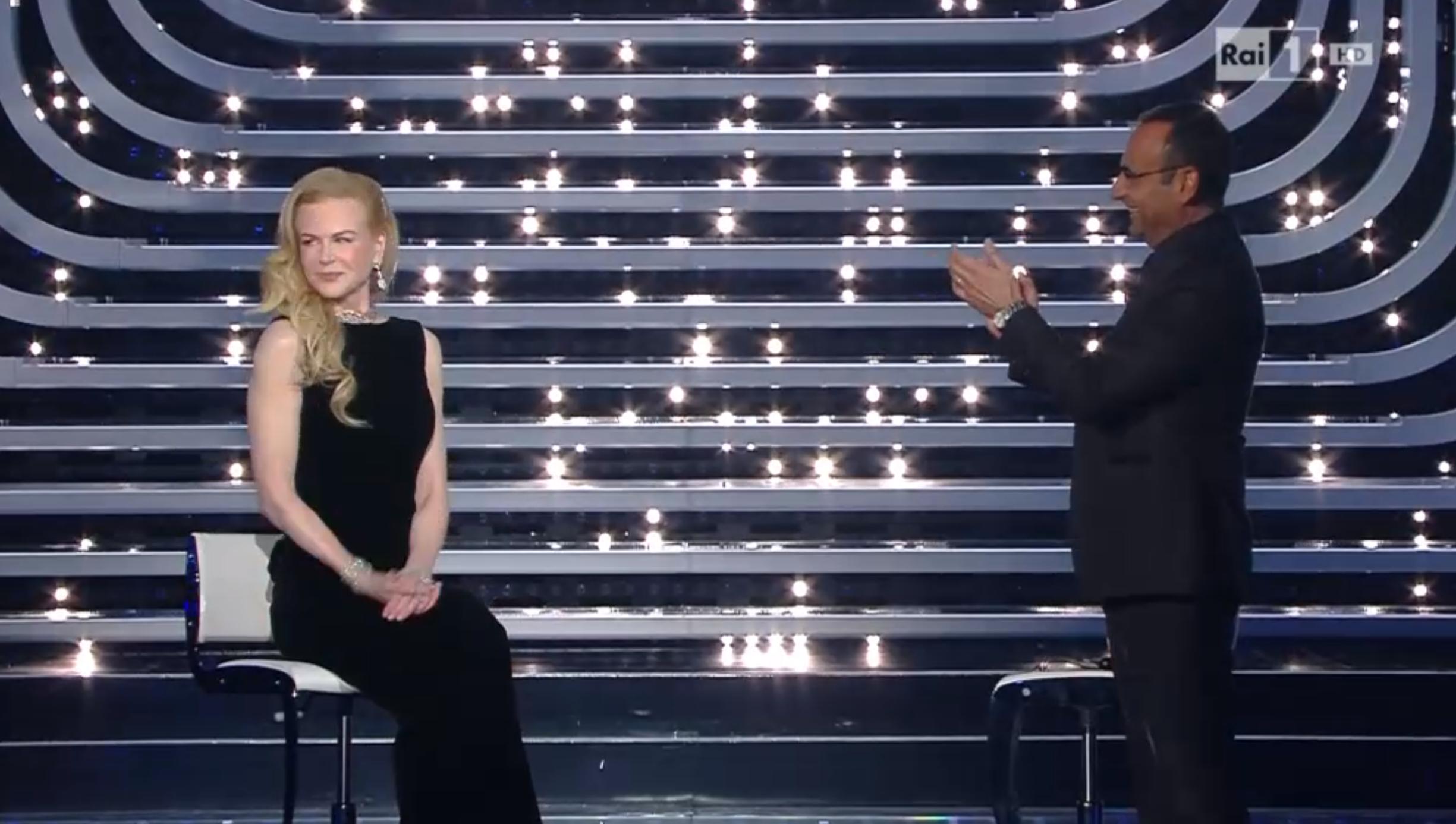 Nicole Kidman ospite a Sanremo 2016
