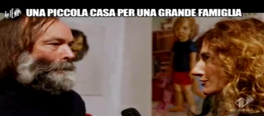 Nina Palmieri e il papà scrittore che aspetta una casa popolare da 12 anni