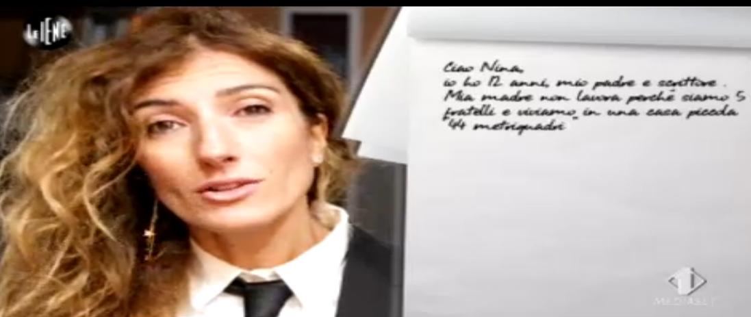 Nina Palmieri, la lettera di Angelico