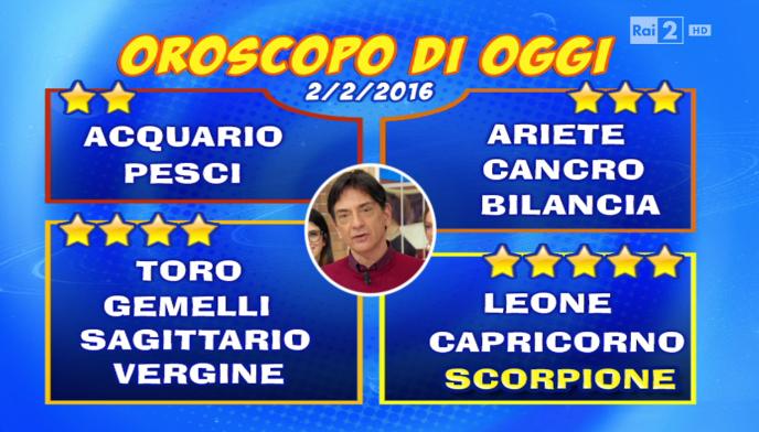 Oroscopo 2 febbraio