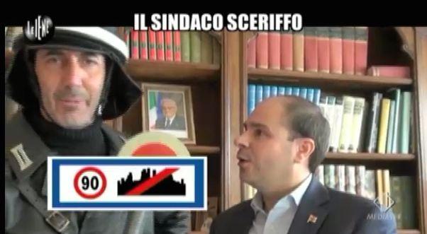 Paolo Calabresi e il sindaco sceriffo