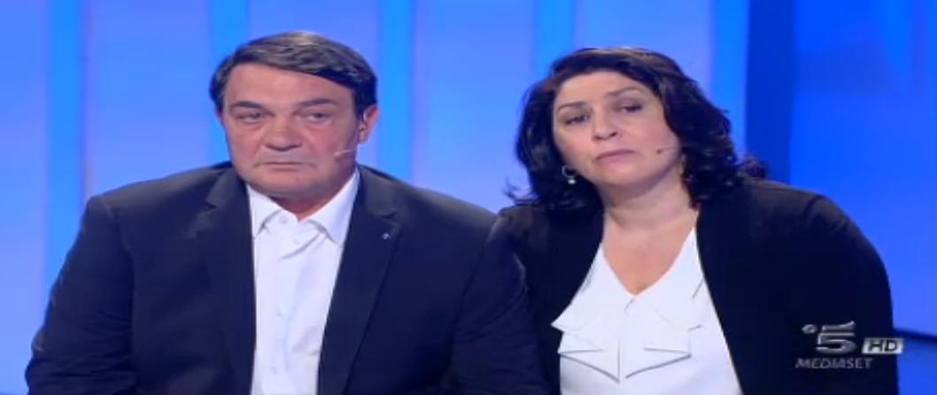 Papà Giovanni e mamma Annamaria