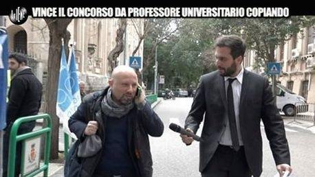 Pecoraro e professore imbroglione