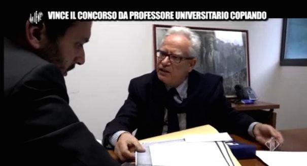 Pecoraro e professore universitario