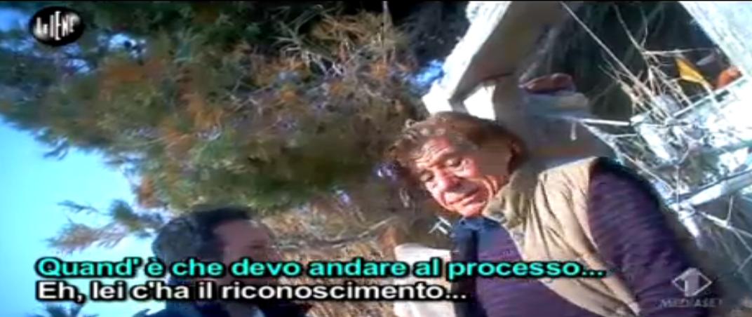 Pecoraro intervista 'faccia da mostro' Giovanni Aiello