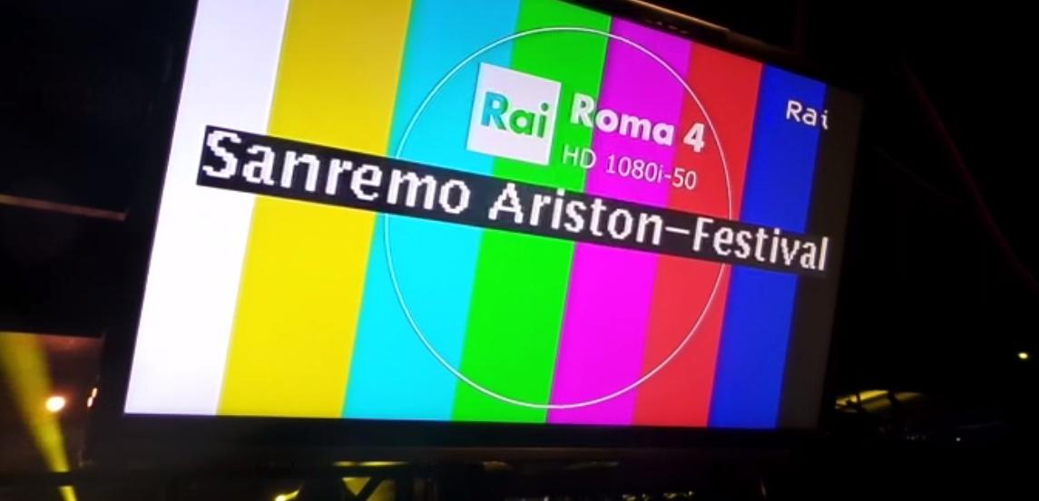 Sanremo backstage