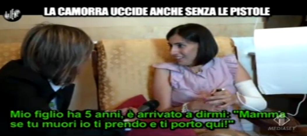 Terra dei fuochi, ragazza morta dopo intervista Nadia Toffa