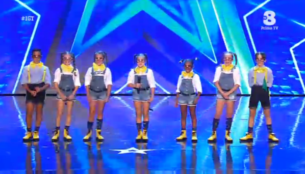 Alpha Kids a Italia's got talent