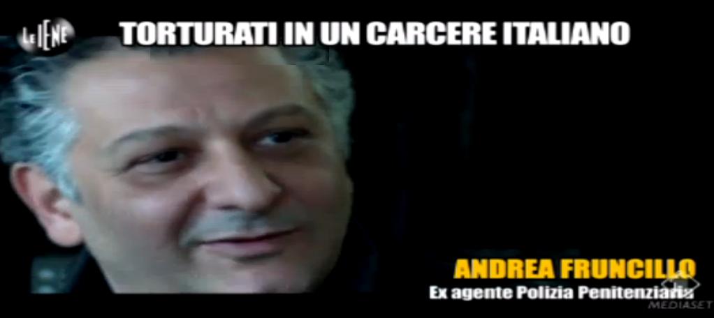 Andrea Fruncillo, ex agente di Polizia Penitenziaria