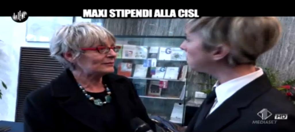 Annamaria Furlan a Le Iene