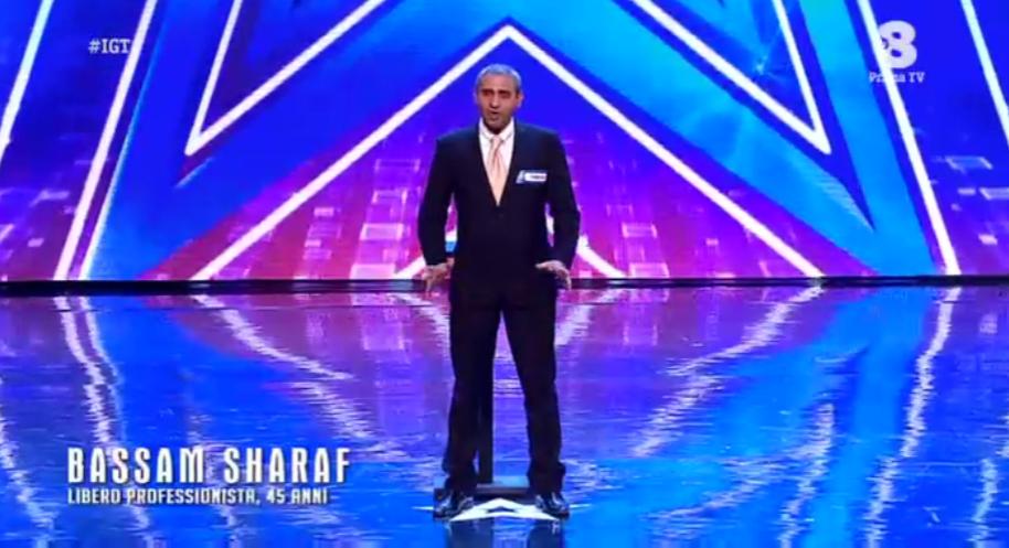 Bassam Sharaf a Italia's got talent 2016