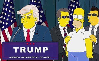 I Simpson e Donald Trump Presidente degli Stati Uniti: già nel 2000 la previsione del cartoon