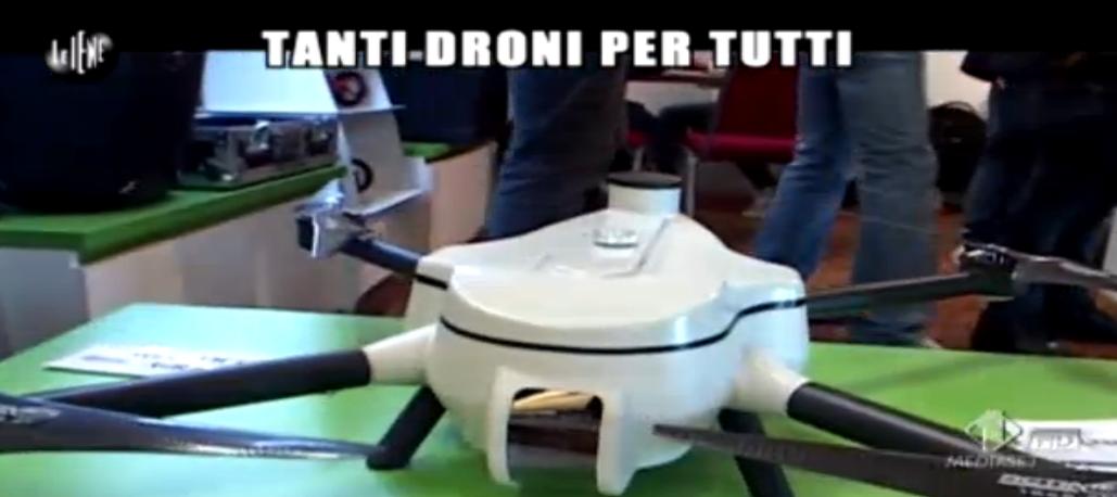 Enrico Lucci, tanti droni per tutti