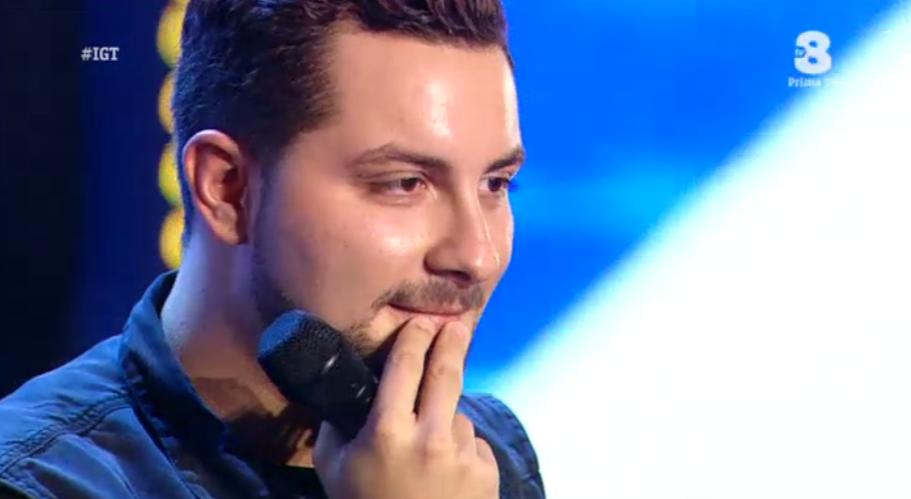Eric incanta a Italia's got talent 2016