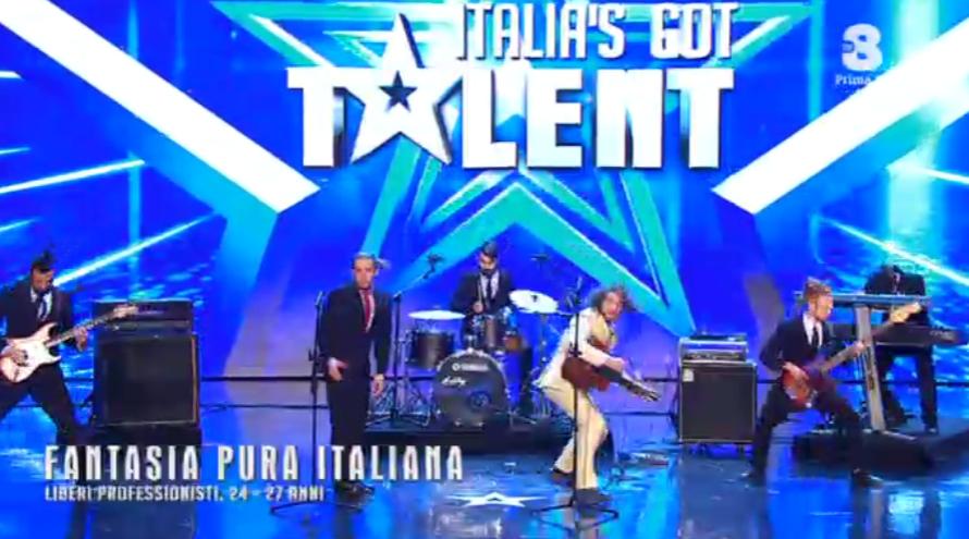 Fantasia Pura Italiana da Prato a Italia's got talent 2016