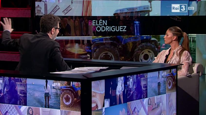 Fazio intervista Belen