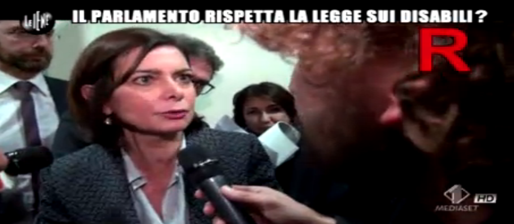 Filippo Roma intervista Laura Boldrini