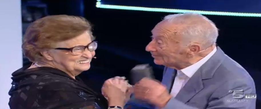 Franco e Maria si rivedono dopo 74 anni