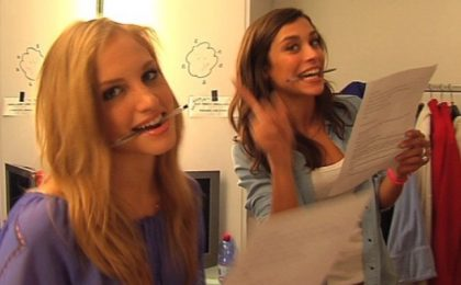 Le Veline Irene e Ludovica: 'A Striscia per il quarto anno con nuovi stacchetti interattivi'