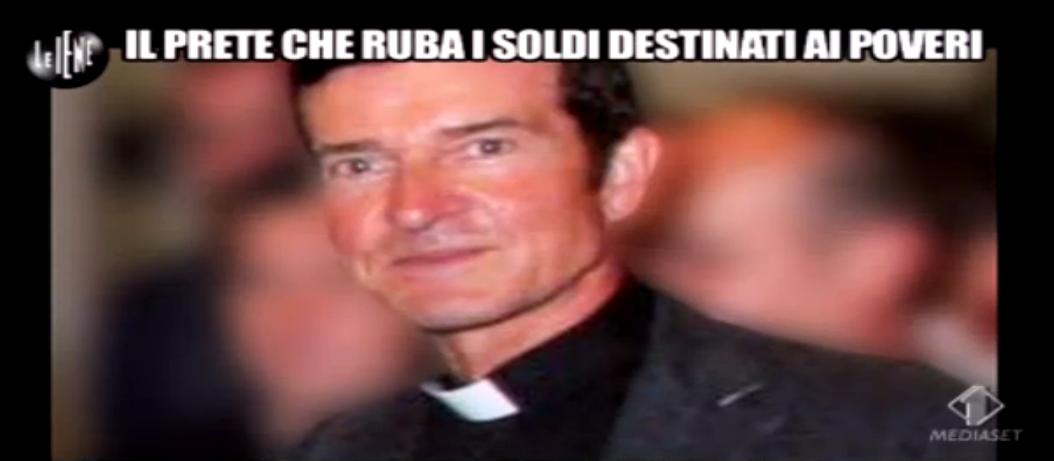 Gaetano Pecoraro, il prete che ruba soldi destinati ai poveri