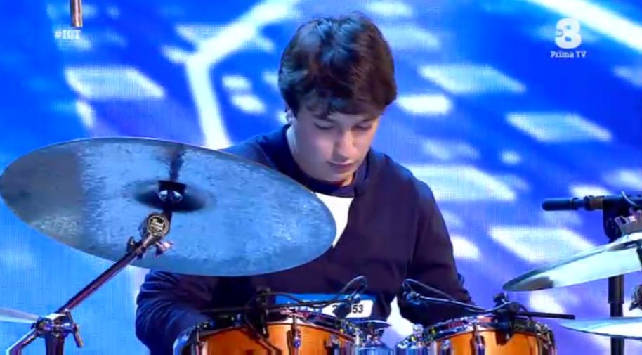 Il batterista Roberto ha soli 17 anni