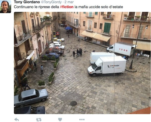 La mafia uccide solo d'estate riprese fiction