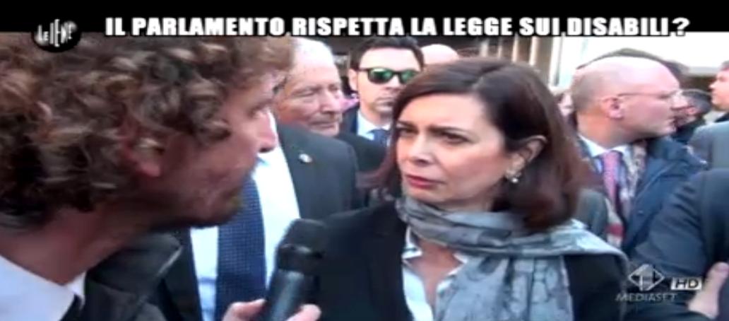 Laura Boldrini intervistata da Filippo Roma