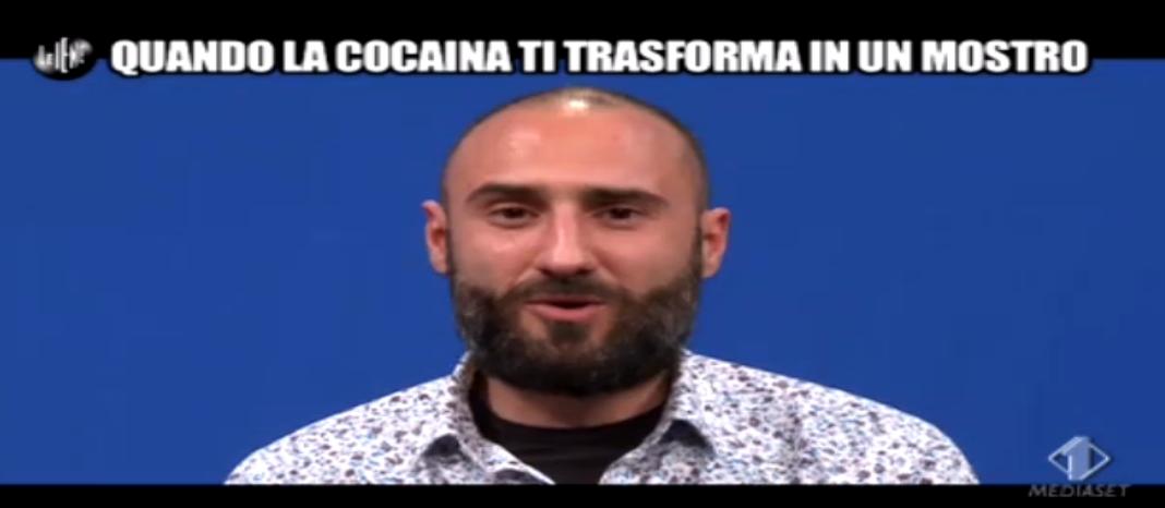 Le Iene, Intervista ad ex cocainomane