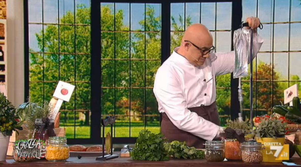 L'imitazione dello Chef vegano