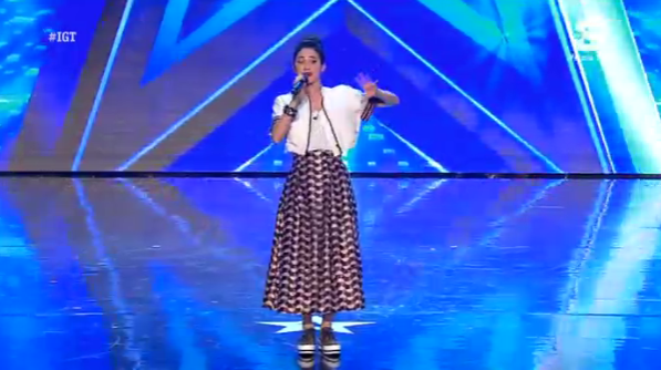 Lodovica Comello conduce Italia's got talent