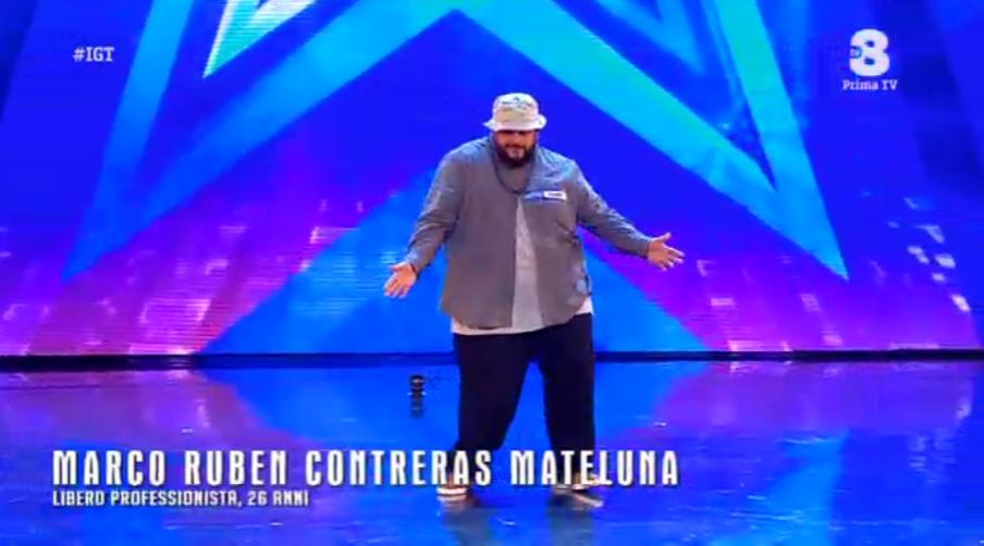 Marco Ruben Contreras Mateluna ballerino