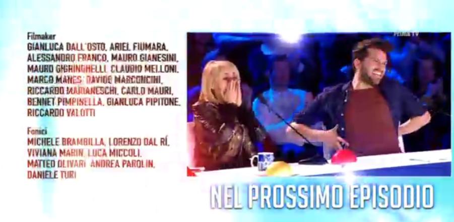 Nel prossimo episodio di Italia's got talent