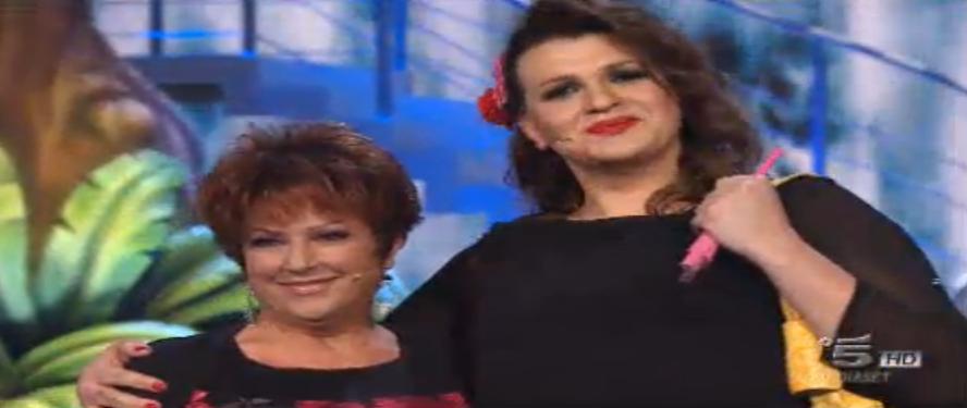 Orietta Berti e Rebecca De Pasquale, Prova Défilé