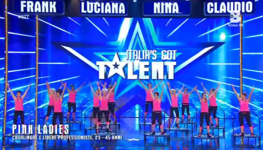 Pink Ladies a Italia's got talent