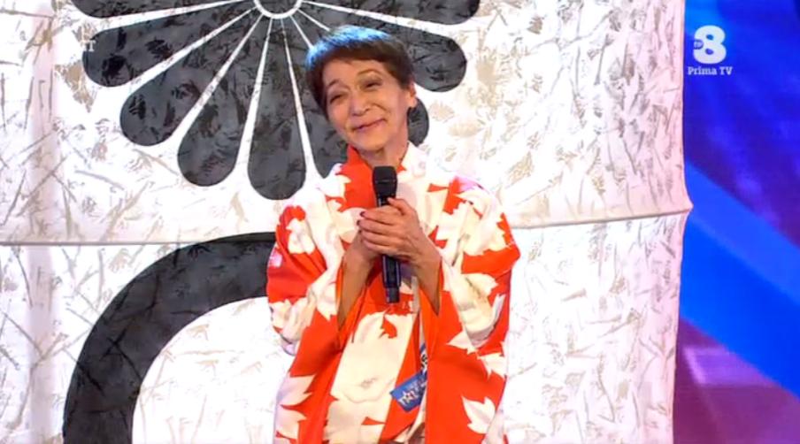 Tomoko dal Giappone a Italia's got talent