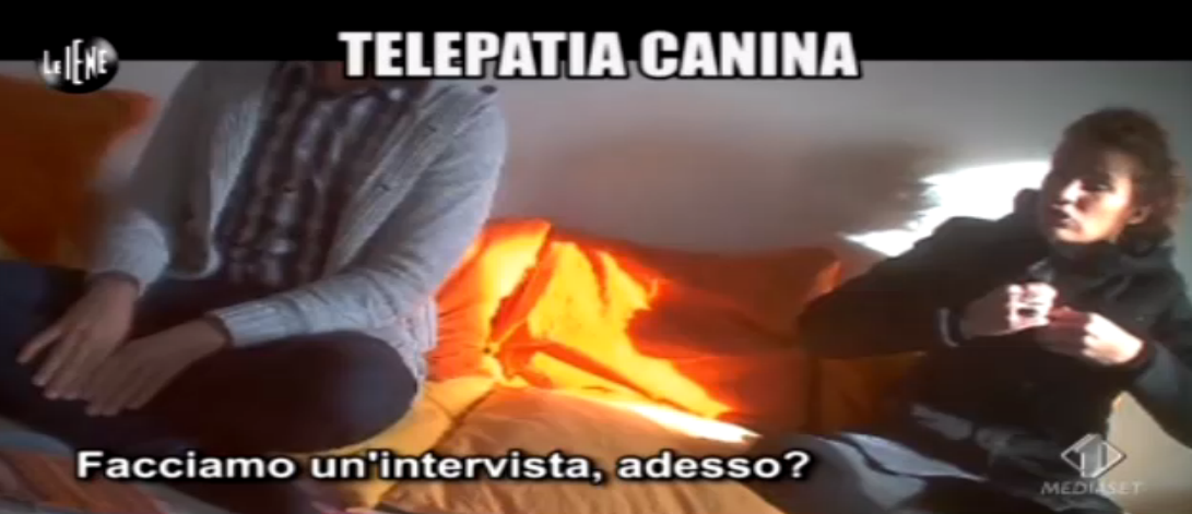 Veronica Ruggieri, telepatia canina