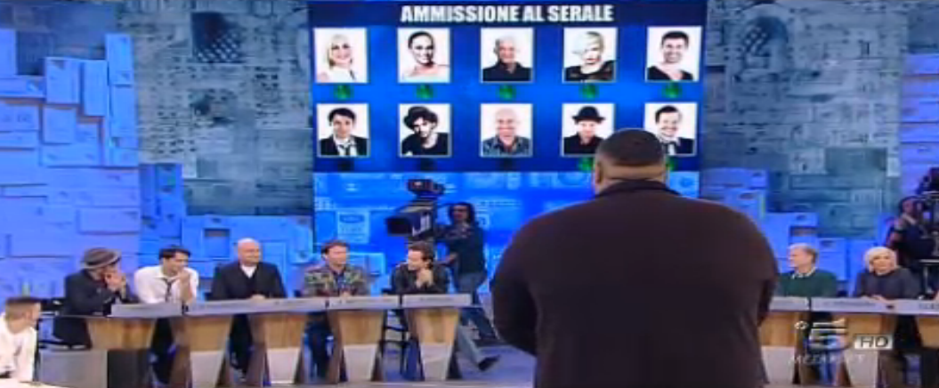 Zerbi vota 'no' per Sergio Sylvestre al Serale