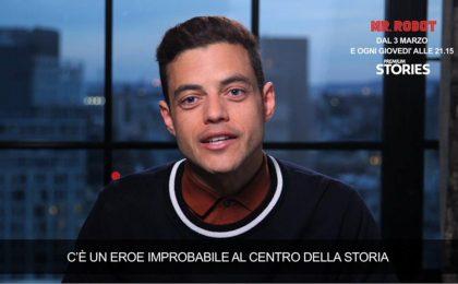 Rami Malek: 'Mr Robot dà la forza di credere di poter cambiare le cose'