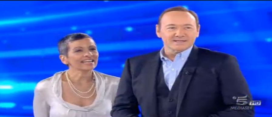 Kevin Spacey ad Amici