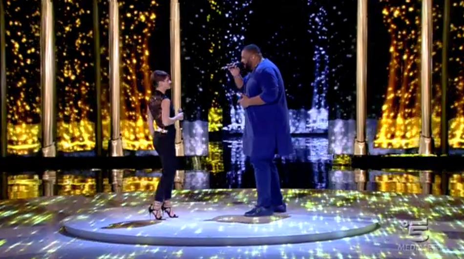 Alessandra Amoroso canta Let it be con Sergio Sylvestre, Amici 15