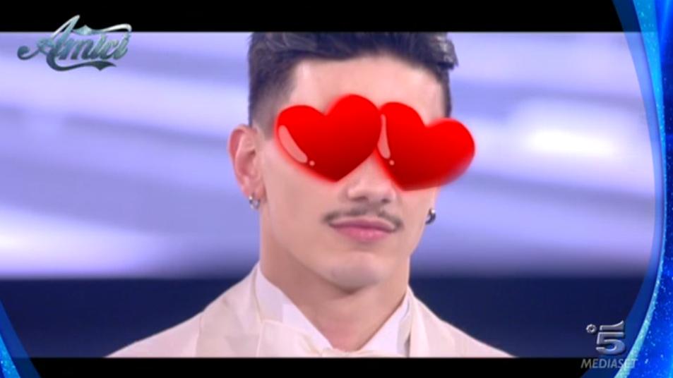 Alessio 'innamorato' di Sabrina Ferilli