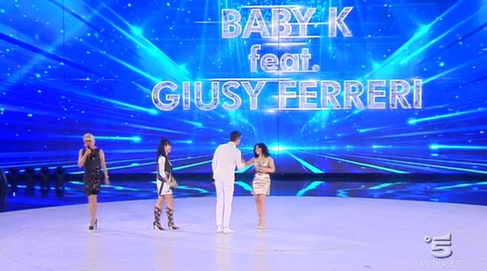 Amici 15, Lele Esposito duetta con Baby K e Giusy Ferreri